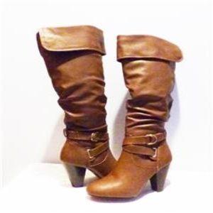 Rampage Ellesandra Women's Synthetic Dress Boots